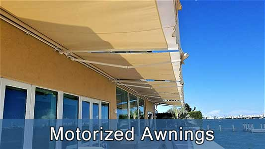 Retractables-Motorized Awnings