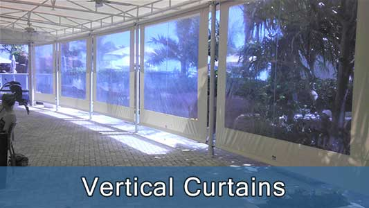 Motorized-Vertical Curtains