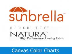 Canvas Color Charts
