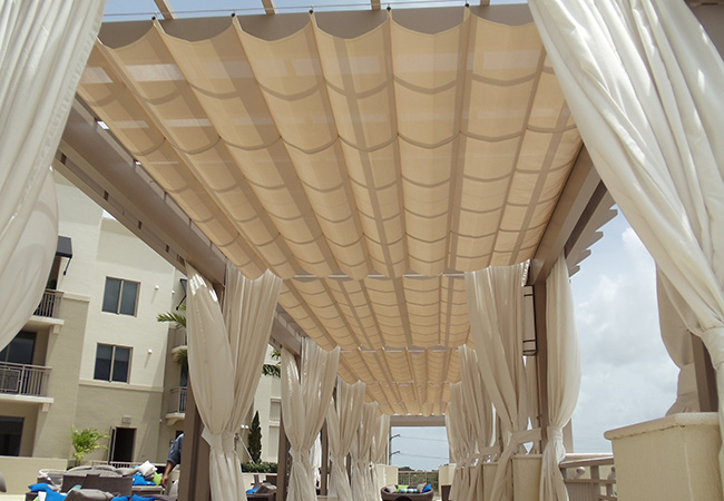 VALROSE AWNINGS - Miami, FL - OUTDOOR CURTAINS
