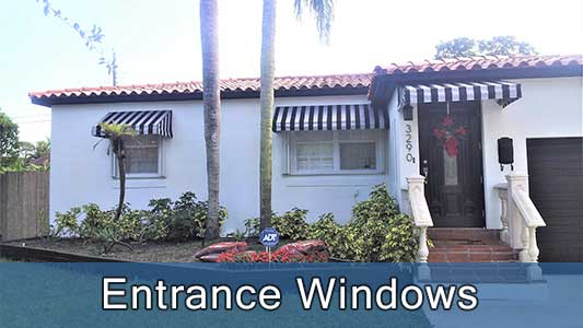 Residential-Entrance Windows